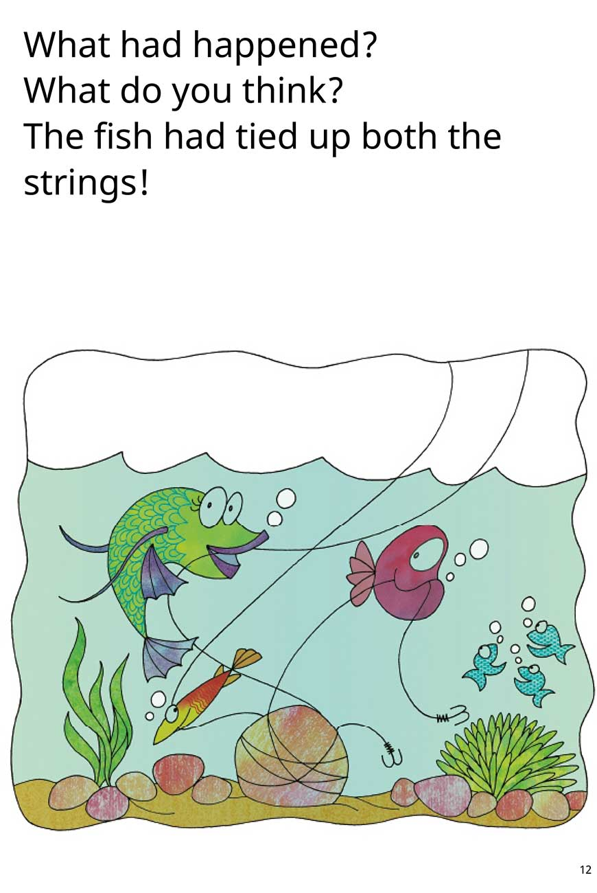 My Fish No My Fish short stories for kids page 12