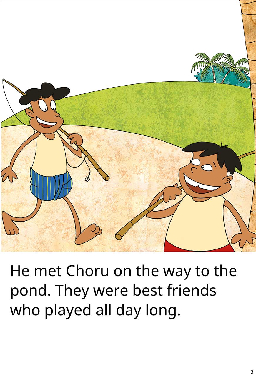 My Fish No My Fish short stories for kids page 3
