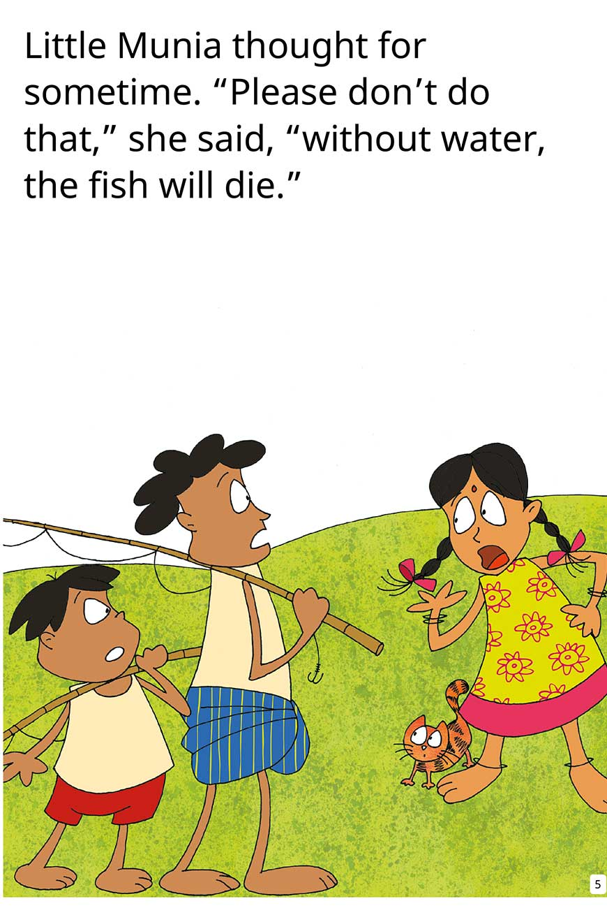 My Fish No My Fish short stories for kids page 5