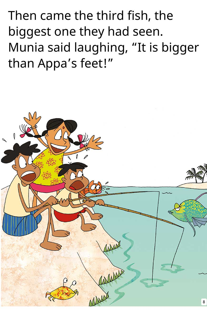 My Fish No My Fish short stories for kids page 8