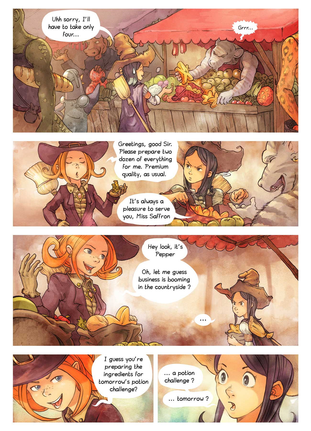 Pepper and Carrot free childrens comic page 2