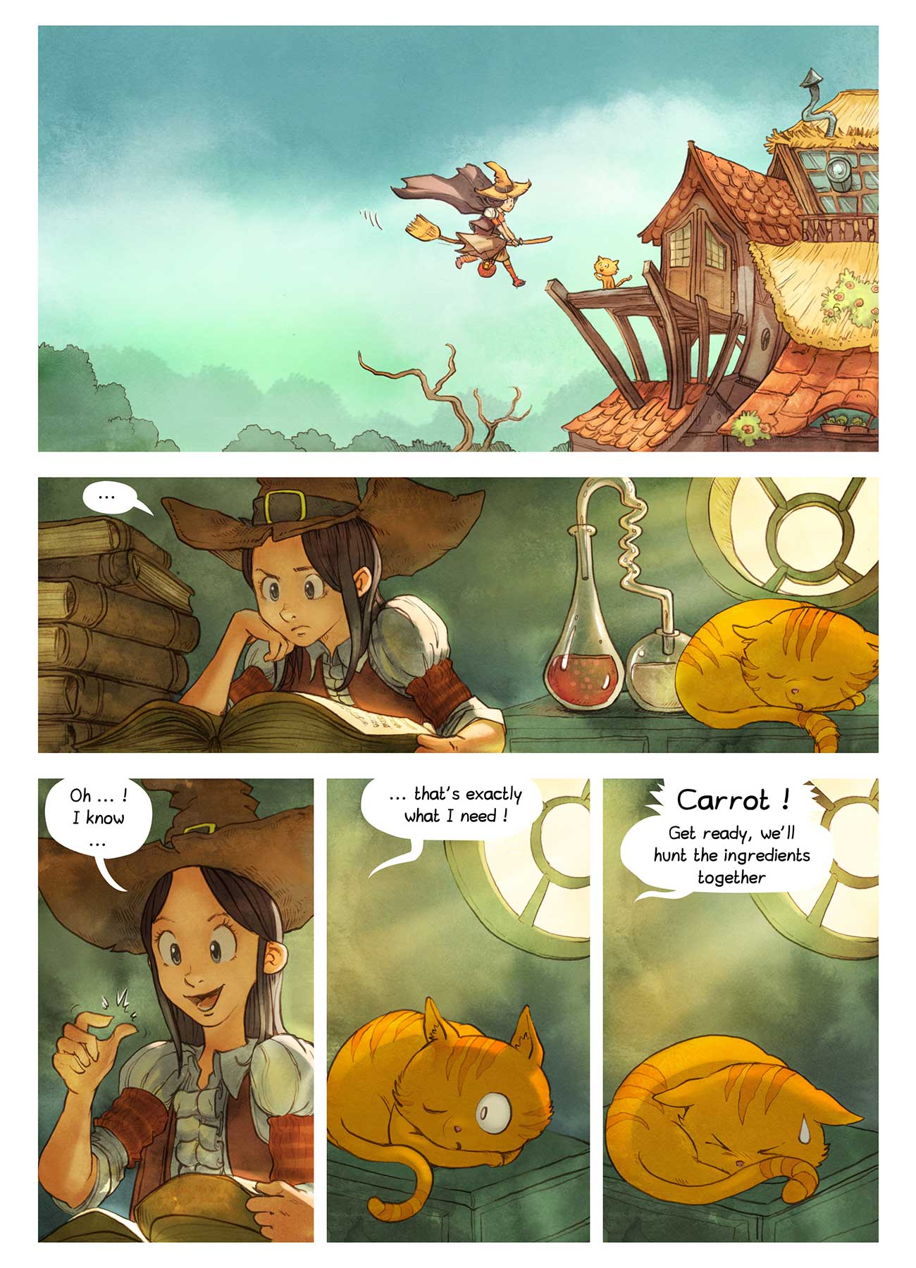Pepper and Carrot free childrens comic page 4