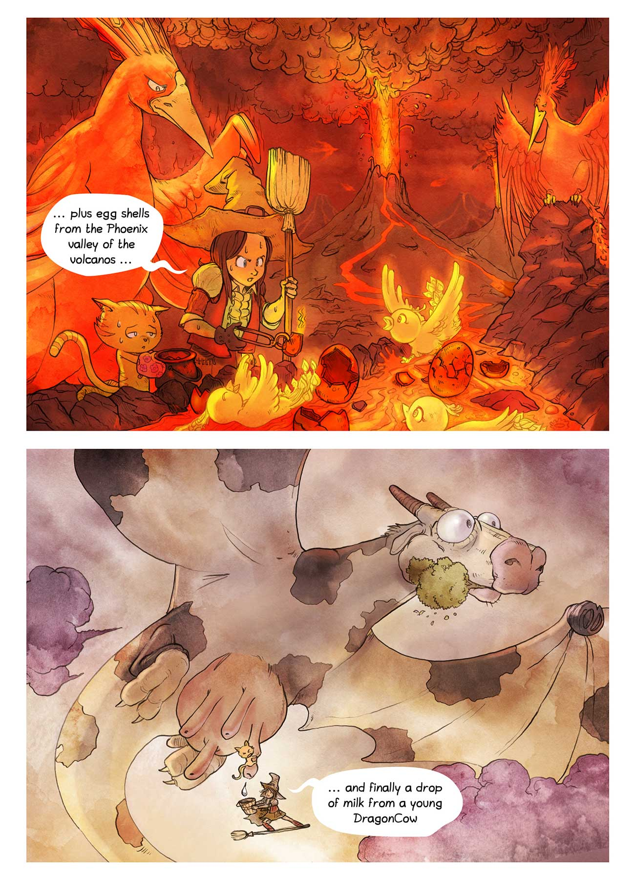 Pepper and Carrot free childrens comic page 6