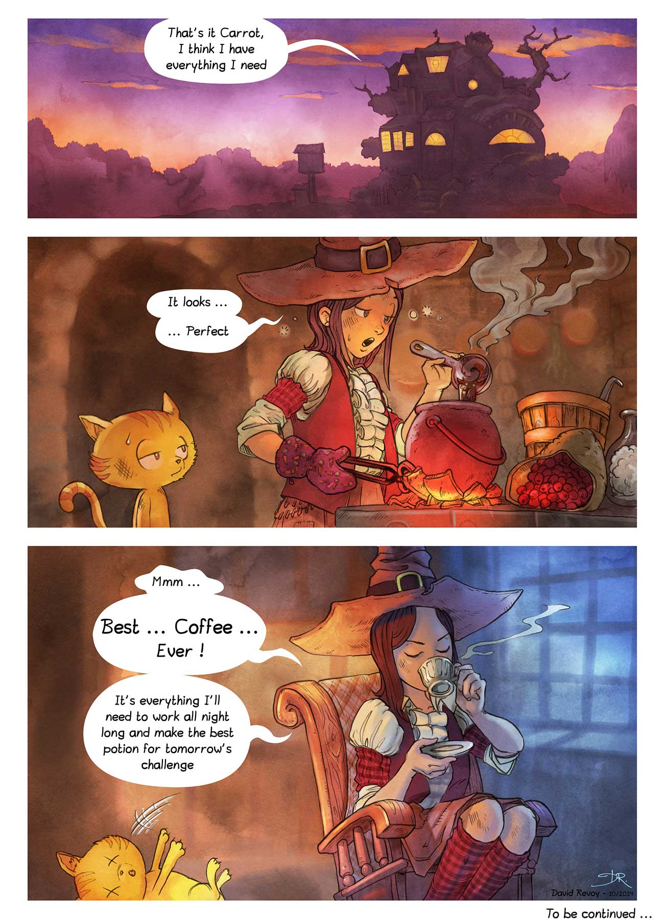 Pepper and Carrot free childrens comic page 7