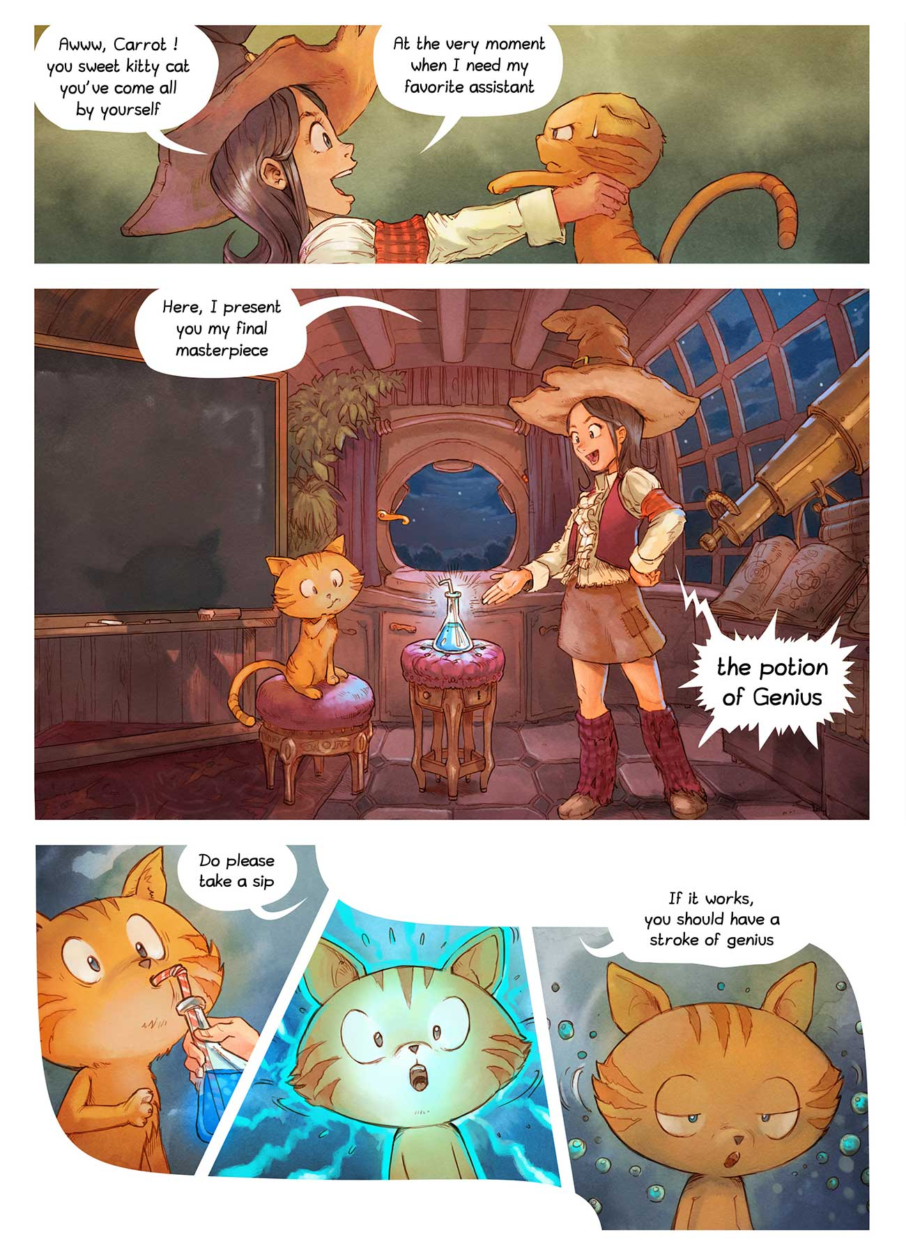 Pepper and Carrot free comic ep4 page 3