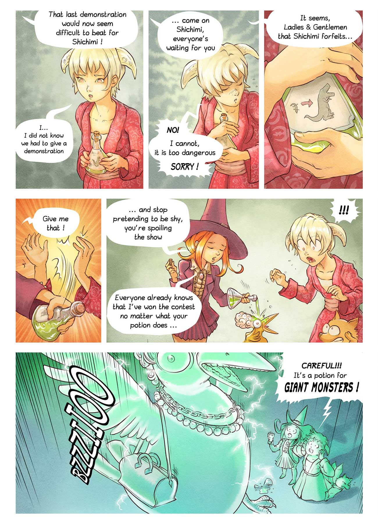Pepper and Carrot free comic ep6 page 6