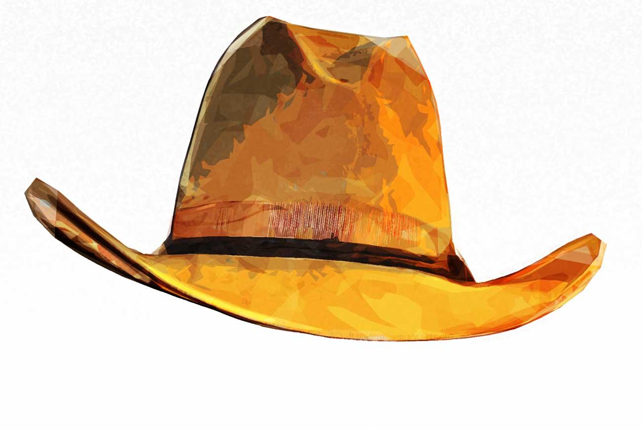 Poems for kids H is for hat illustration