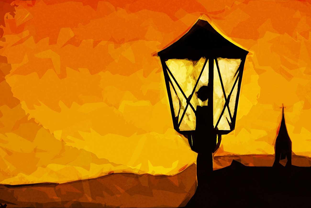 Poems for kids L is for light illustration