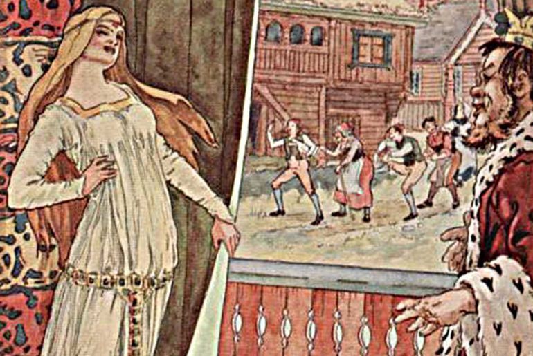 Short stories for kids Taper Tom fairy tale header