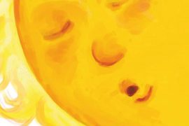 Sister Where Does the Sun Go At Night short stories for kids header illustration