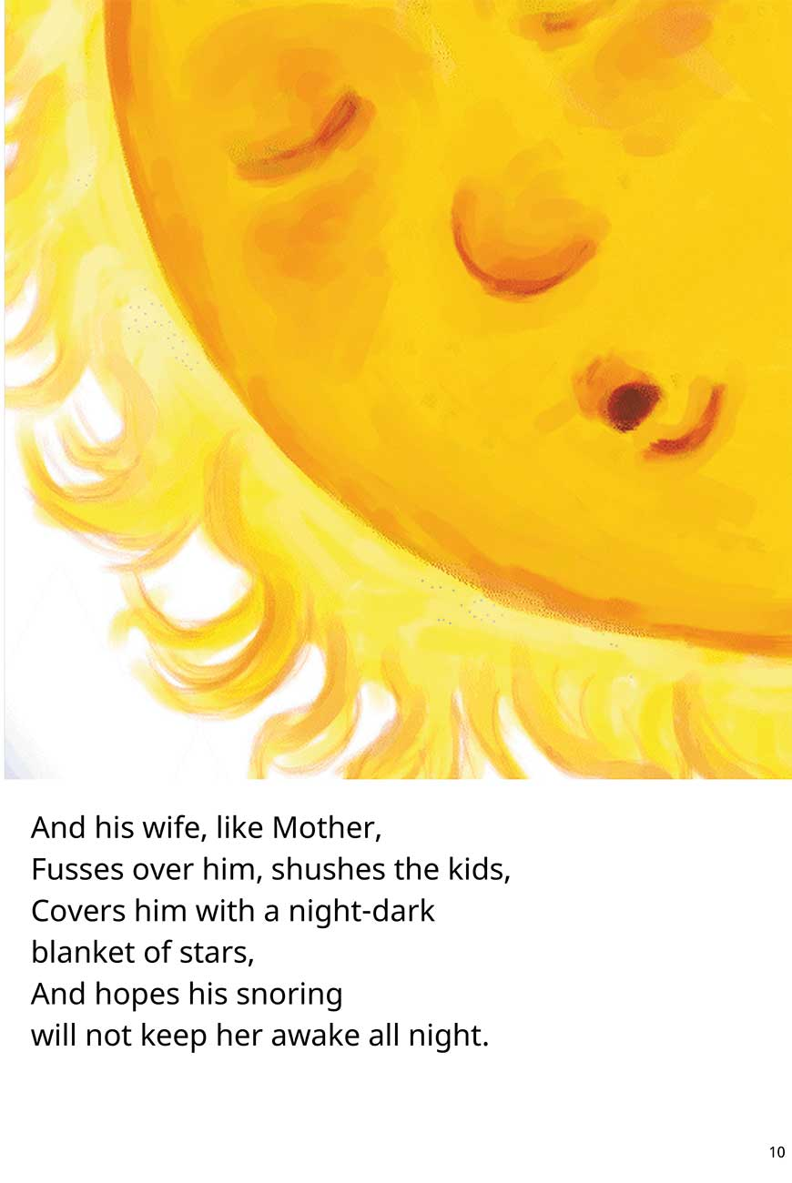 Sister Where Does the Sun Go At Night short stories for kids page 10