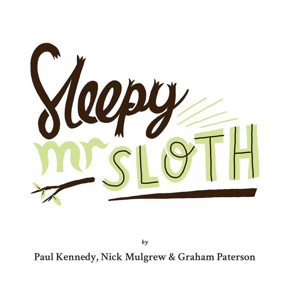 Sleepy Mr Sloth short stories for kids 1