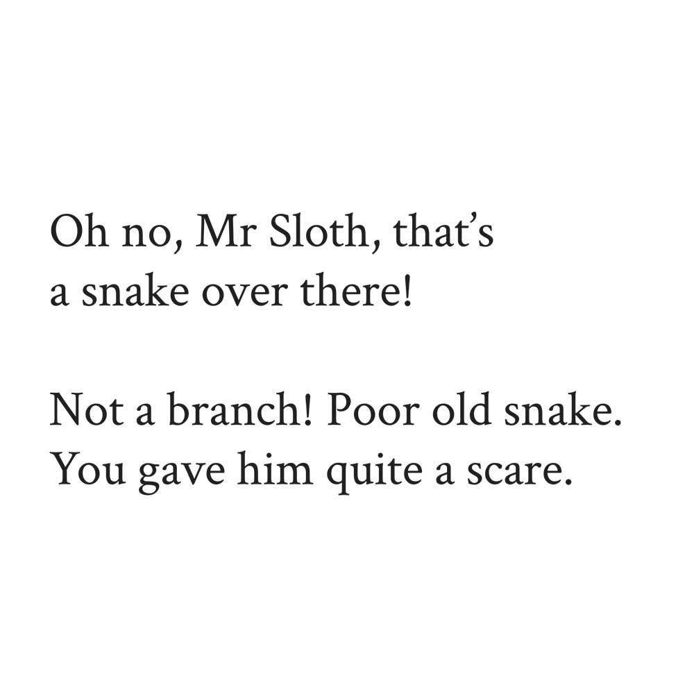 Sleepy Mr Sloth short stories for kids 16