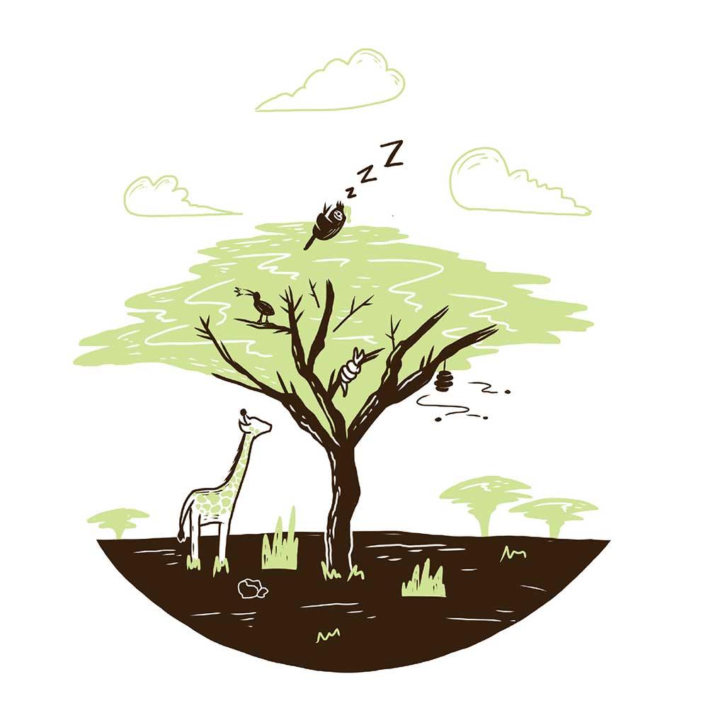 Sleepy Mr Sloth short stories for kids 25