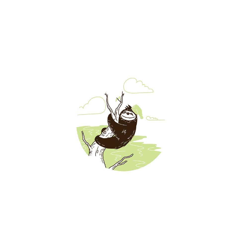 Sleepy Mr Sloth short stories for kids 26