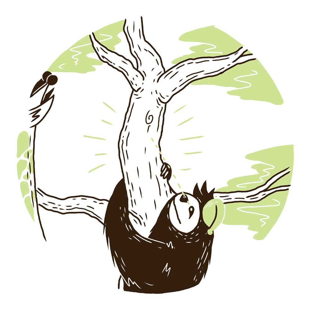 Sleepy Mr Sloth short stories for kids 7