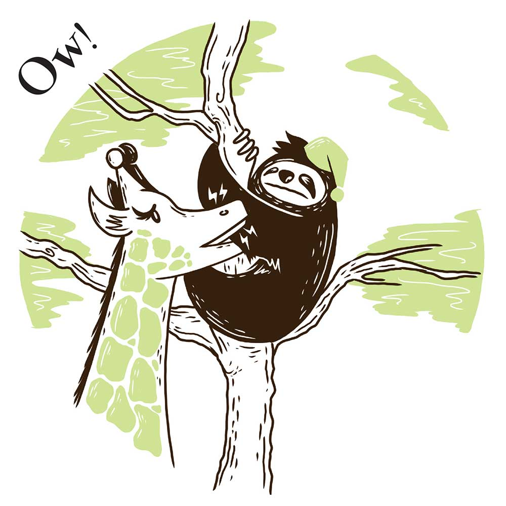 Sleepy Mr Sloth short stories for kids 9