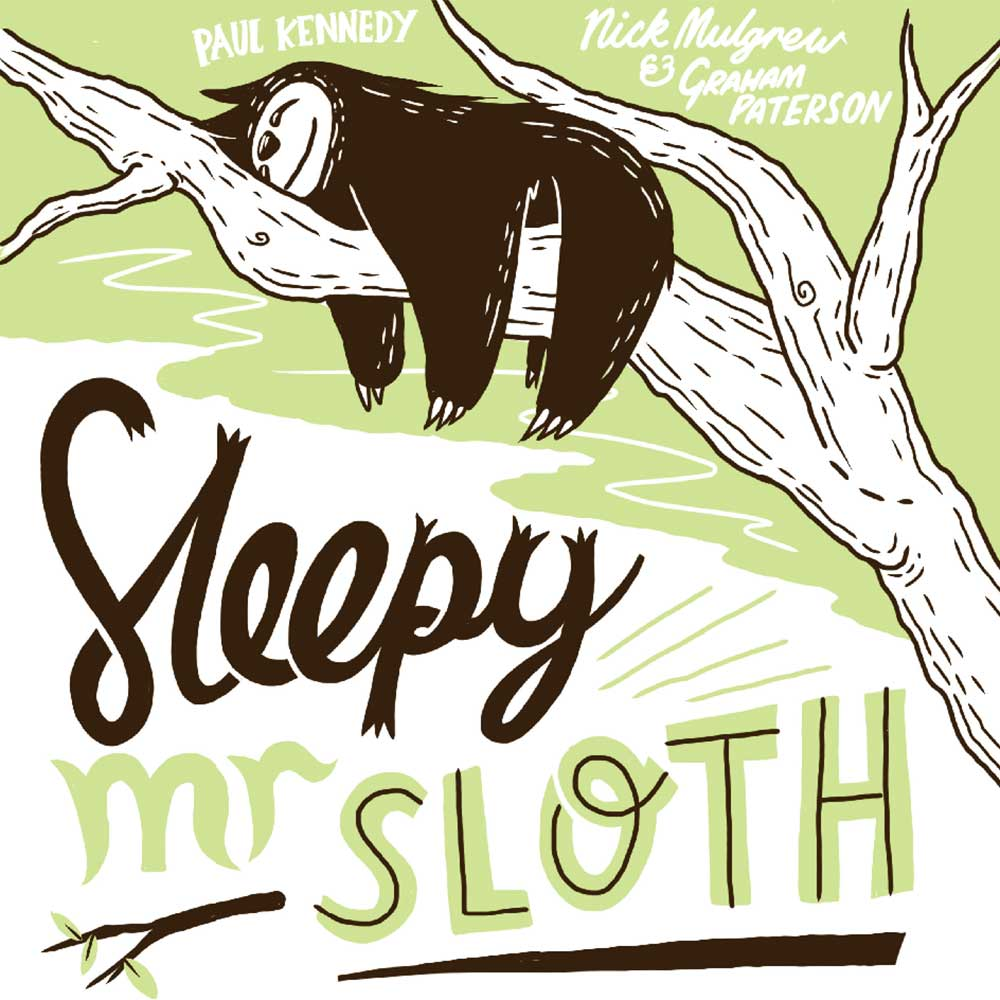 Sleepy Mr Sloth short stories for kids free book cover
