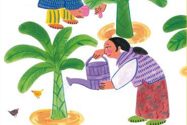 The Magic Powder free short stories for kids header illustration