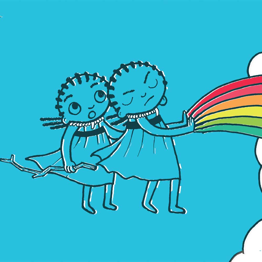 The Rainbow Cloud free childrens picture book page 20