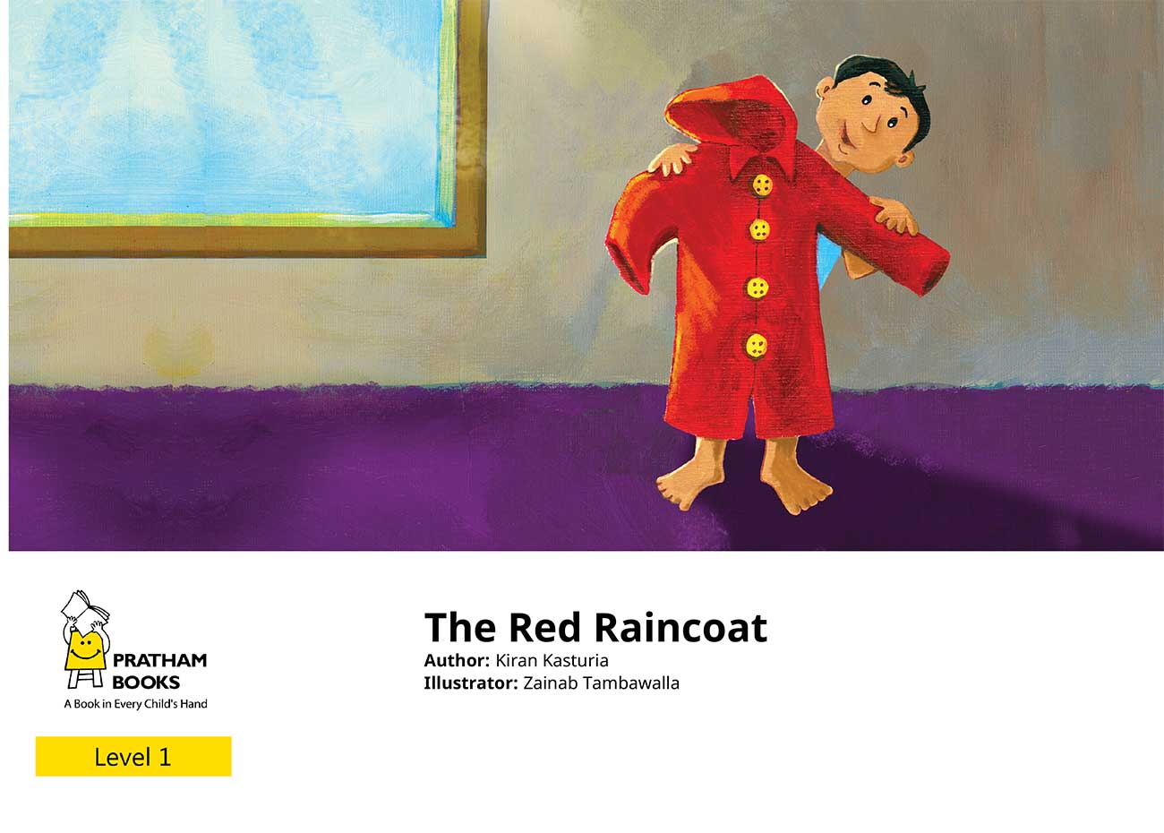 The Red Raincoat Free Kids Bedtime Story page 1