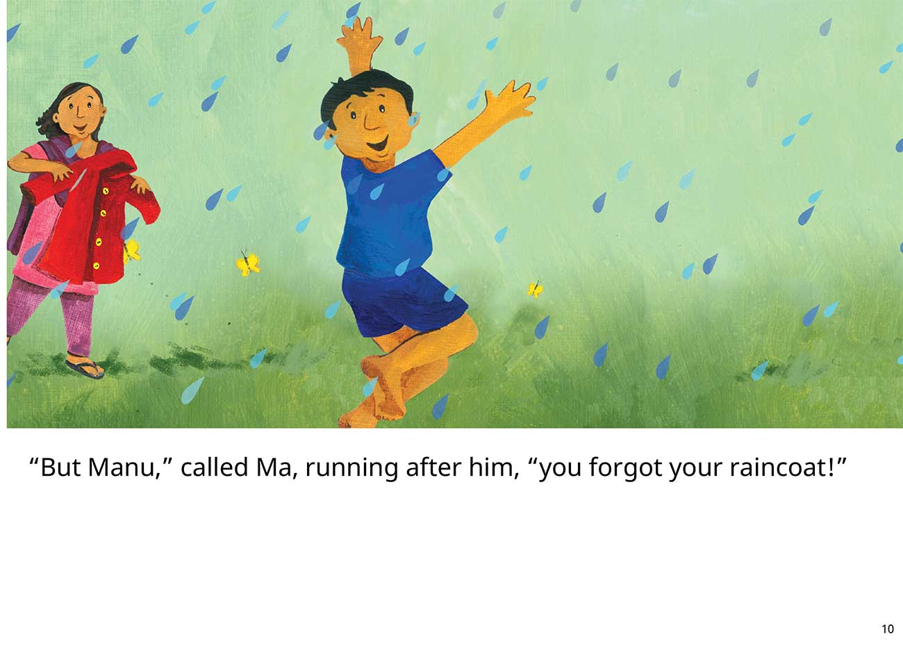 The Red Raincoat Free Kids Bedtime Story page 10