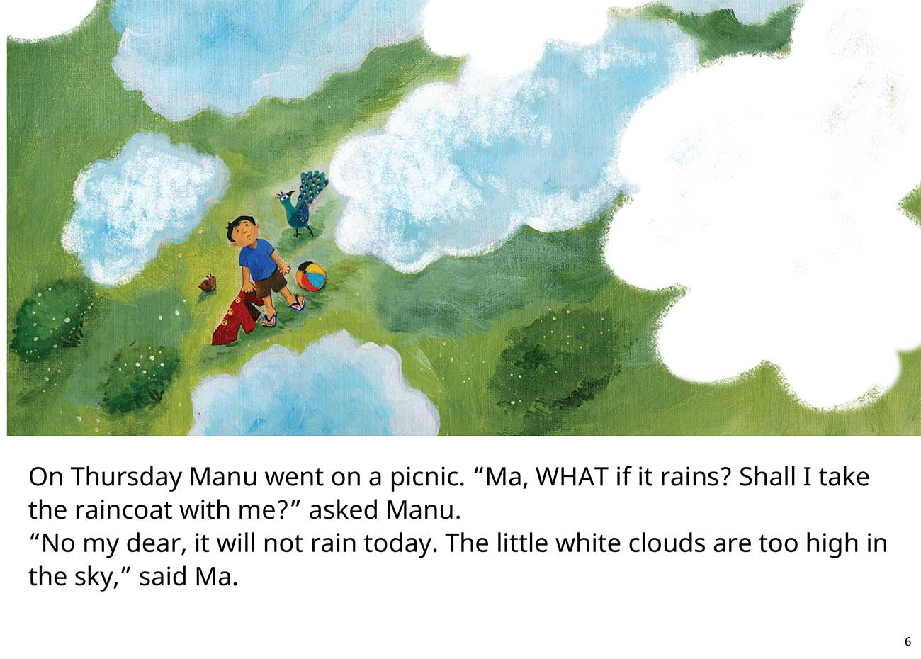 The Red Raincoat Free Kids Bedtime Story page 6