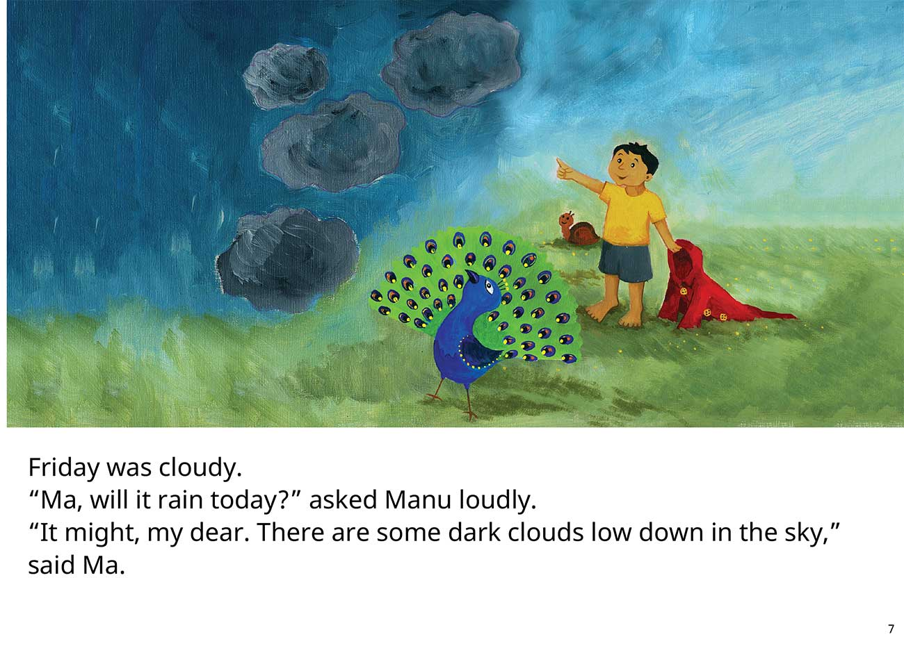 The Red Raincoat Free Kids Bedtime Story page 7
