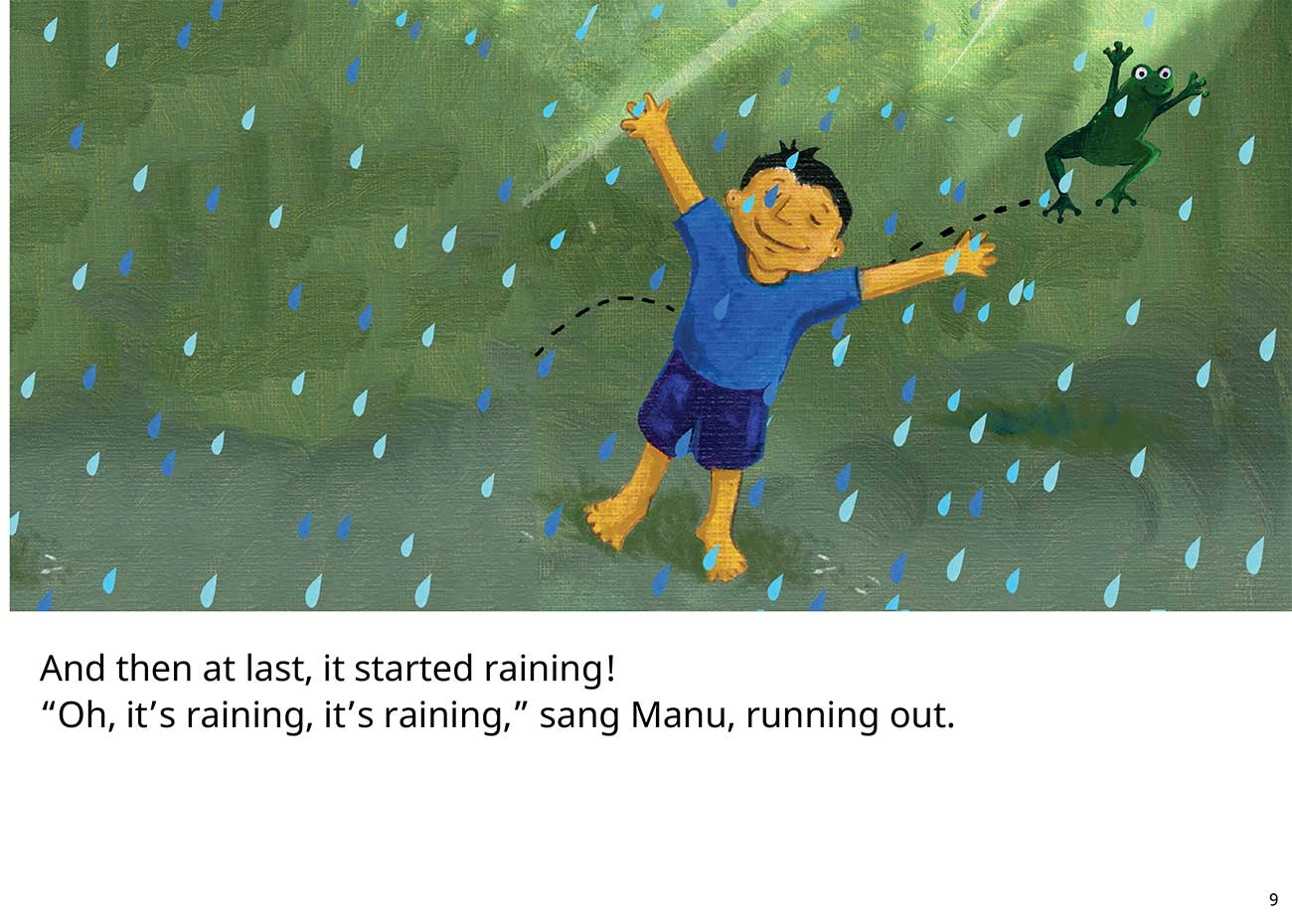 The Red Raincoat Free Kids Bedtime Story page 9