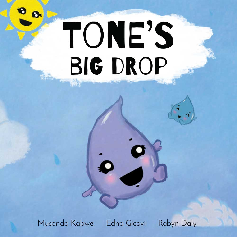 Tones Big Drop short stories for kids book cover