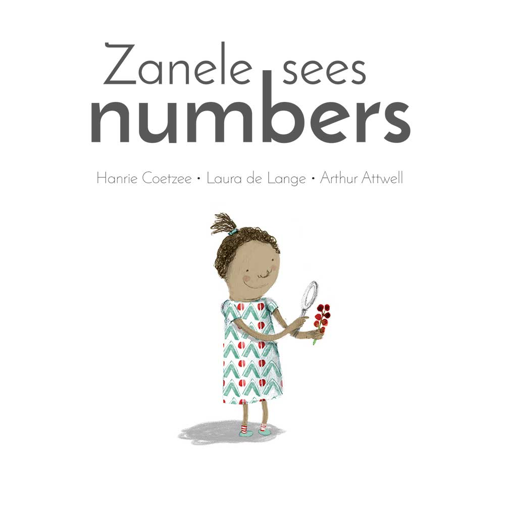 Zanele Sees Numbers short stories for kids cover page