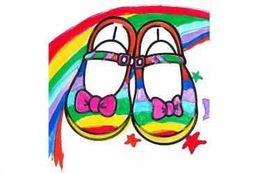 Tillys Rainbow Shoes short story for kids header picture