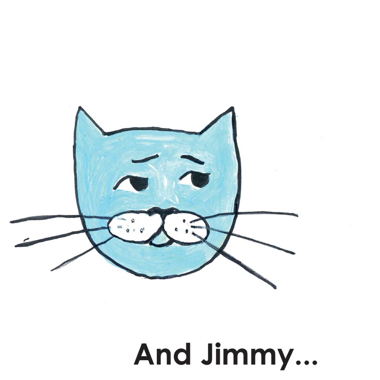 Children's early reader free kids stories Jimmy the Cat and Bobiks Birthday 12