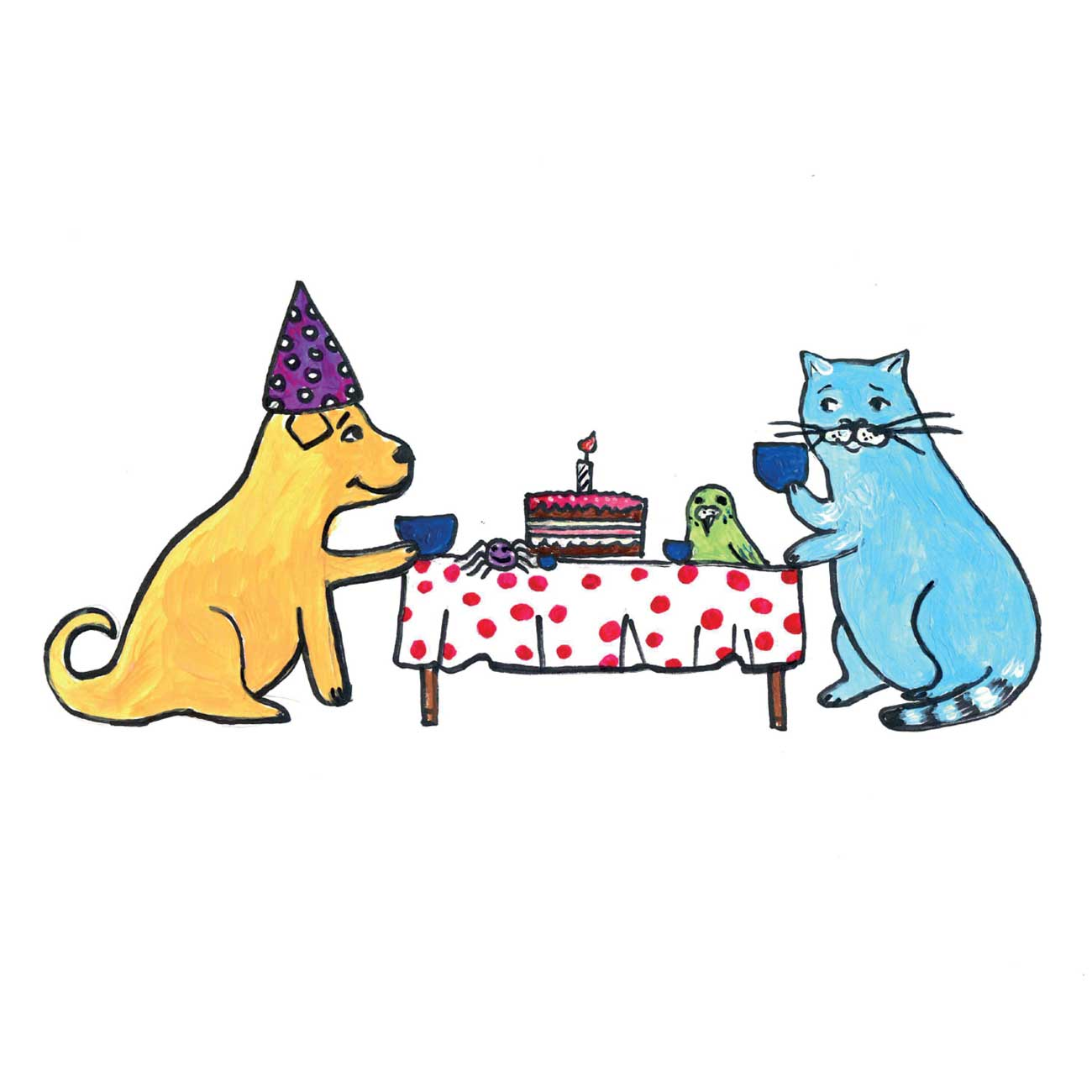 Children's early reader free kids stories Jimmy the Cat and Bobiks Birthday 23