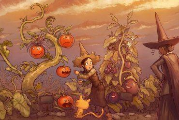 Free online comics Pepper and Carrot episode 19 header illustration