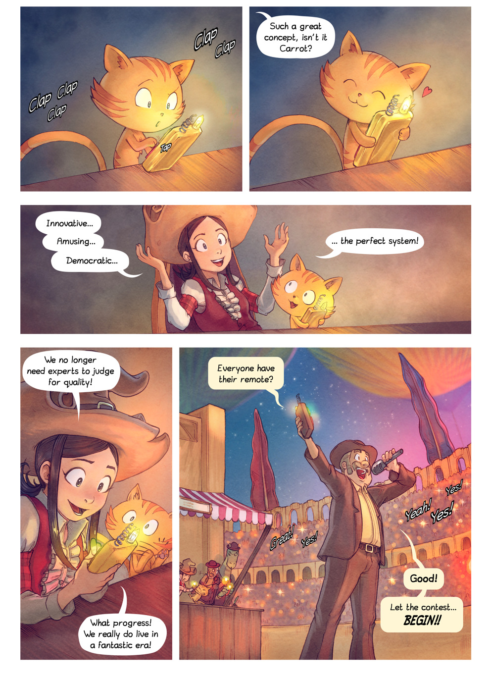 Free online comics Pepper and Carrot episode 22 page 4