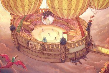 Free online comics Pepper and Carrot episode 22 header illustration