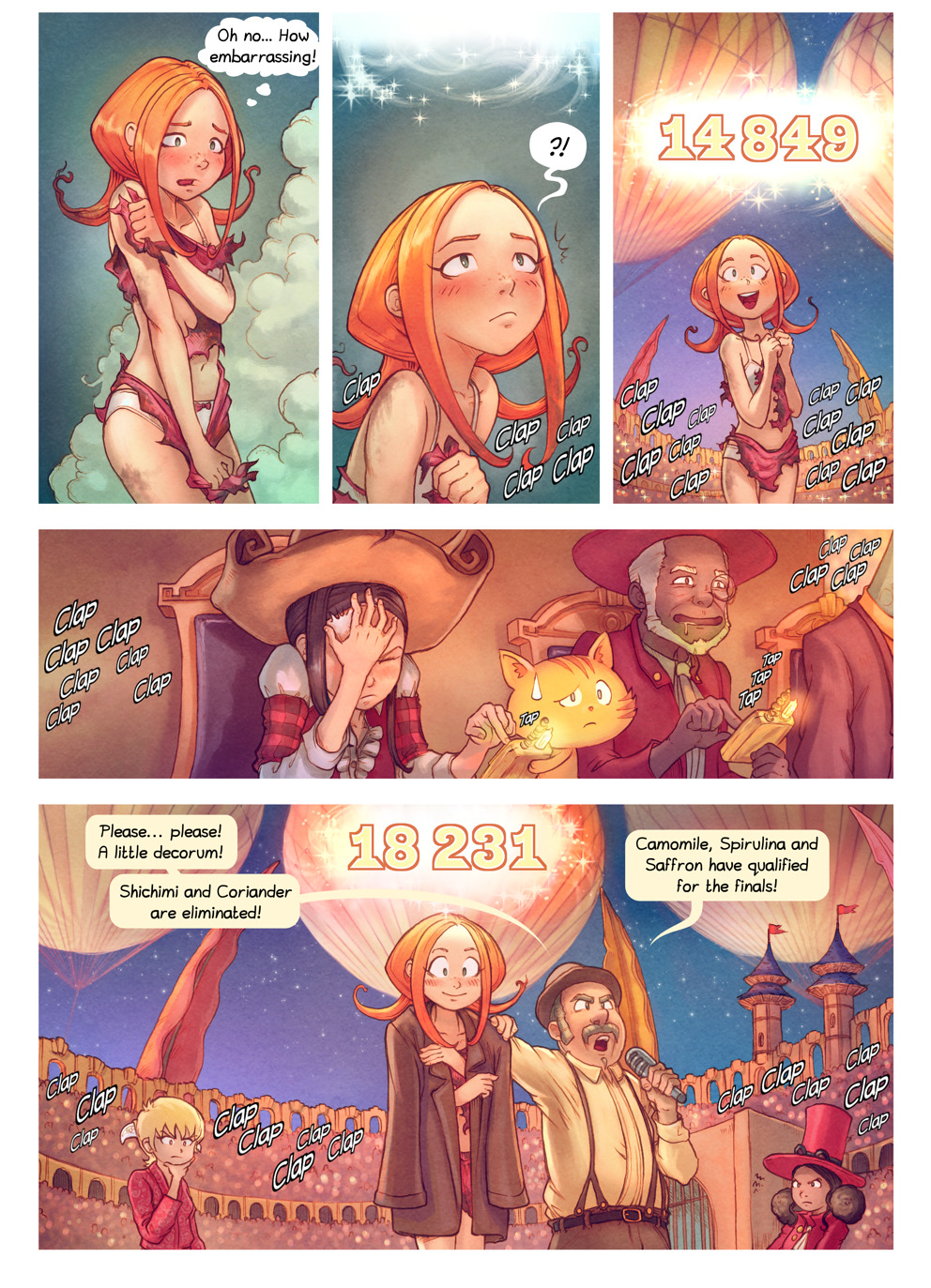 Free online comics Pepper and Carrot episode 22 page 9