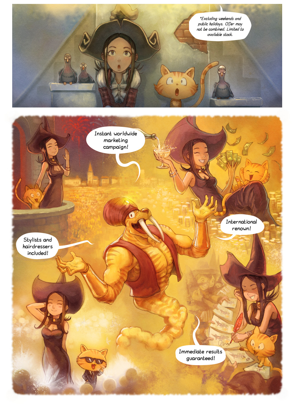 Free online comics Pepper and Carrot episode 23 page 4