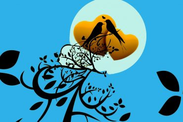 Illustration for kids poem Japanese lullaby by Eugene Field