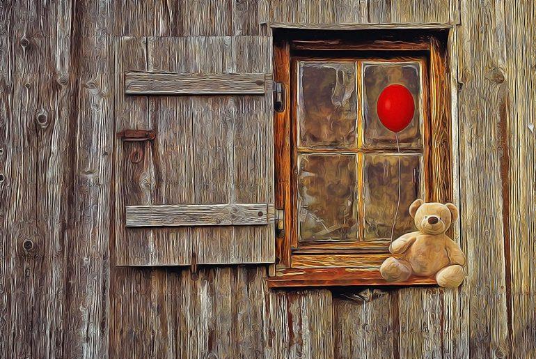Illustration for kids poem Little Boy Blue
