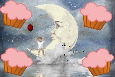 Illustration for poem for kids The Sugarplum Tree by Eugene Field