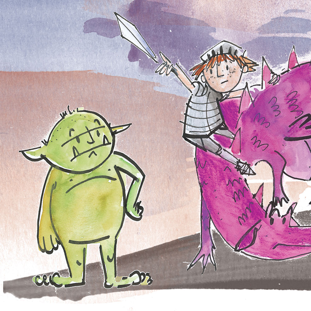 Knight Times Bedtime Stories for Kids page 25