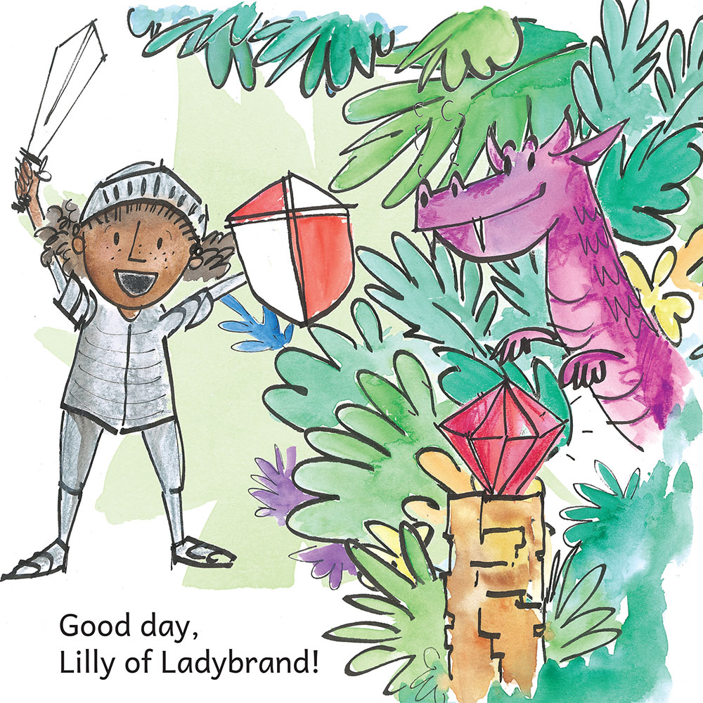 Knight Times Bedtime Stories for Kids page 5