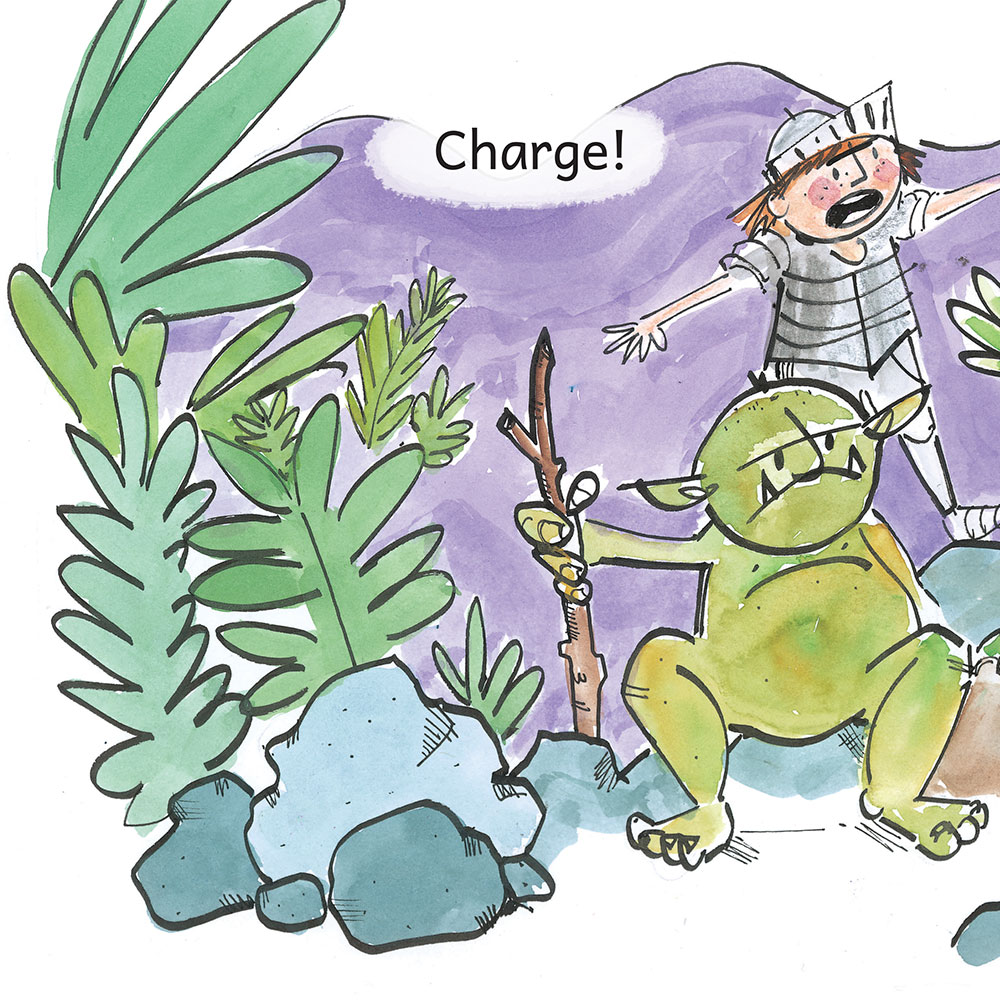 Knight Times Bedtime Stories for Kids page 9
