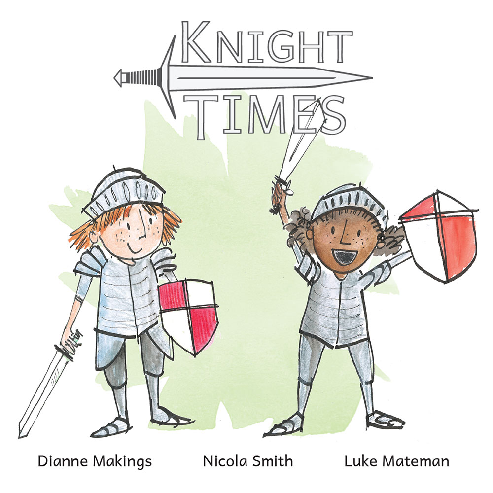 Knight Times Bedtime Stories free for kids cover illustration
