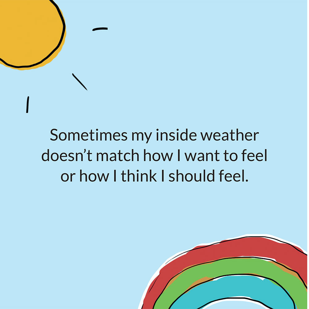 My Inside Weather short stories for kids page 20