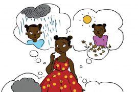 My Inside Weather short stories for kids header illustration on feelings