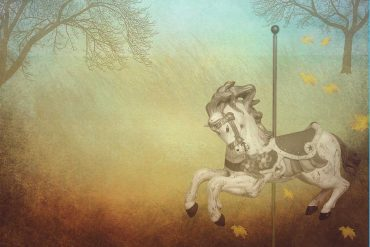 Poems for kids illustration for poem Carousel