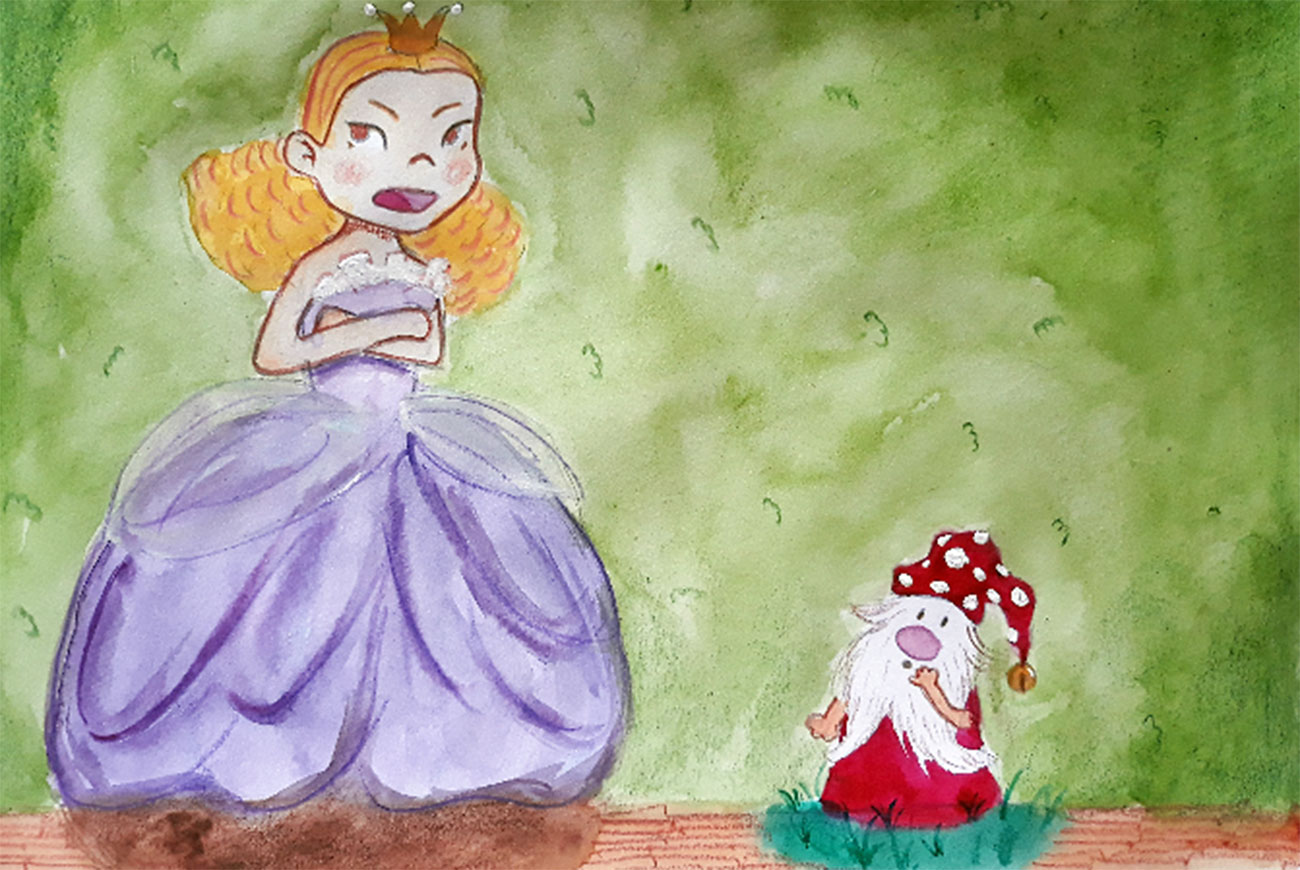 Princess stories for kids Baby Brother Surprise illustration 11